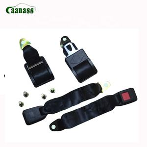 Two point universal removable portable bus safety belt/vehicle safety seat belt for XML6113