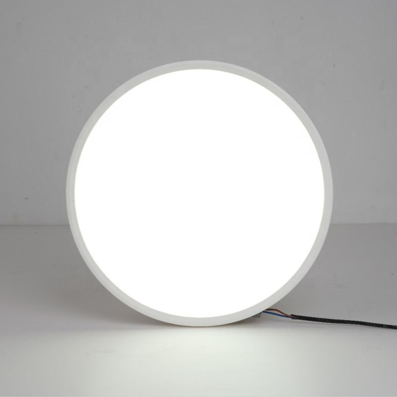 10W white round ceiling light led ceiling light ultra-thin panel light with good quality wholesale