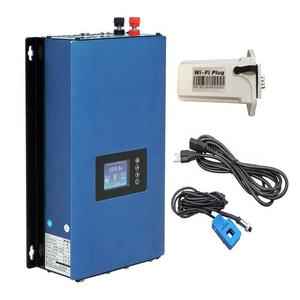 LCD Display Solar Grid Tie Inverter 1000W With Internal Limiter 22-65V/45-90V/ DC Input to 100V-255V AC 50/60Hz With Wifi Plug