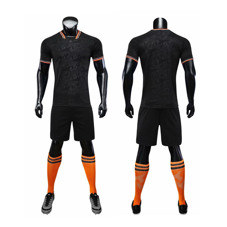 Anti-bacterial Youth Soccer Jersey Football Brand Soccer Jersey Wear Custom Football Kits With Your Own LOGO
