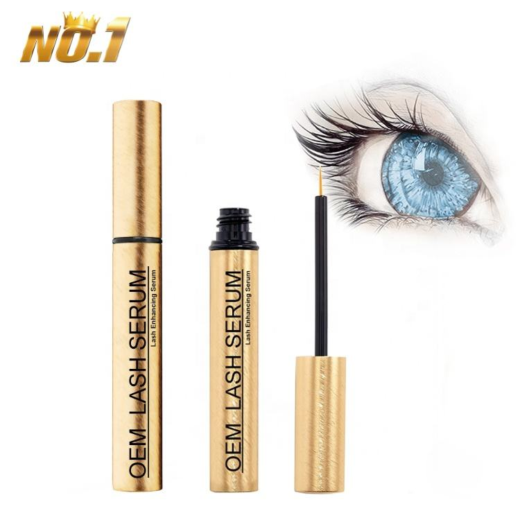 Custom Organic Wholesale Natural FEG Eyebrow Eye Brow Enhancer Grow Liquid Boost Lash Growth Serum Private Label Eyelash Serum