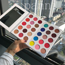 Private label cosmetics makeup 15 color glitter eyeshadow pallet
