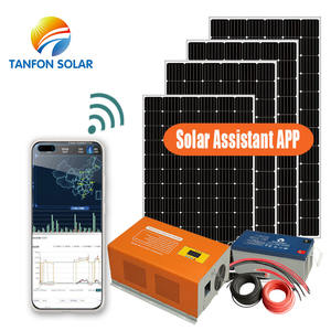 1KW 2KW 3KW 5KW ganze set solar panel preis inverter solar power system solar panel system