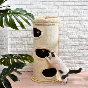 Indoor Kat Tunnel Paradise House Cat Cave Huis Bed Wol Kat Huis