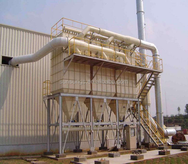 New design cement powder separator cyclone dust collector/cyclone powder separator