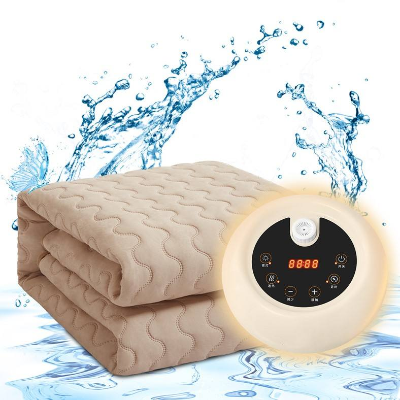 Electric Water Warming Heated Blanket, Warm water circulation heater mattress pad electric heating blanket