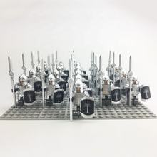 Lord of the Rings mini figures Gondor Soldiers Spear Infantry Habbit mini figures Compatible legoe  block brick kid Toy