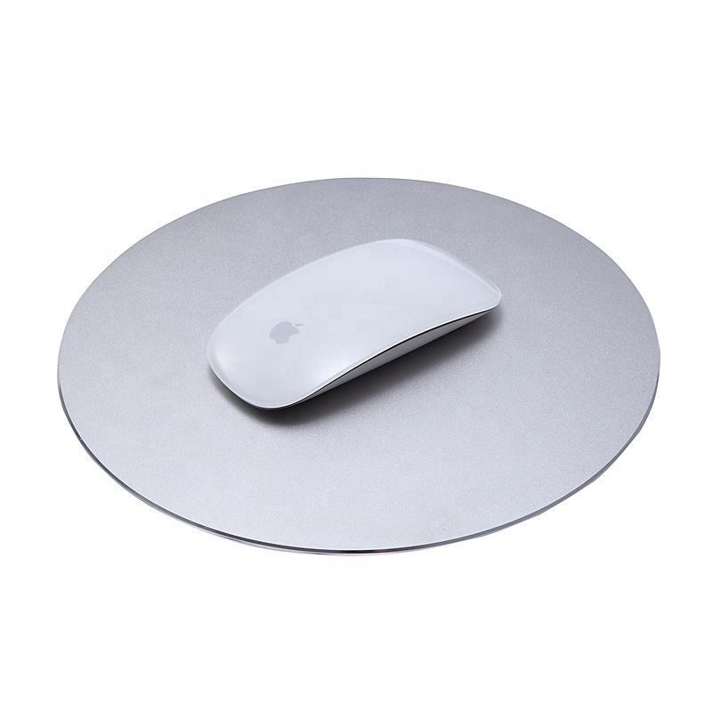 Factory wholesale metal aluminium large mouse pad gamer smooth custom mouse pad