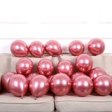 Customized modern silver gold metallic color 10 inch 2.2g balloons for wedding birthday party decorations