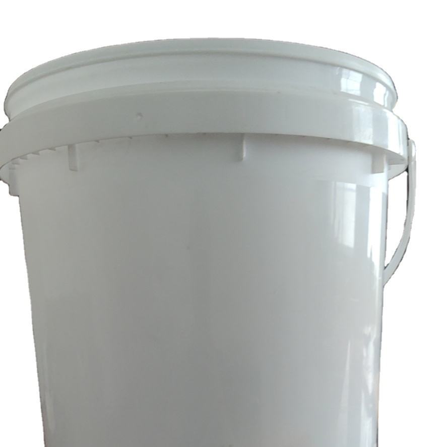Gold Manufacturer Plastic Bucket With Lid Food Grade For 5L 10L 15L 20L