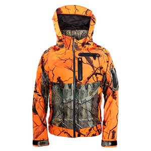 Fashion waterproof hunting jacket camouflage clothing for men