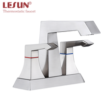 2020 New Arrival Luxury Bathroom Basin Water Faucet Hot Cold Temperature Control Mixer Tap