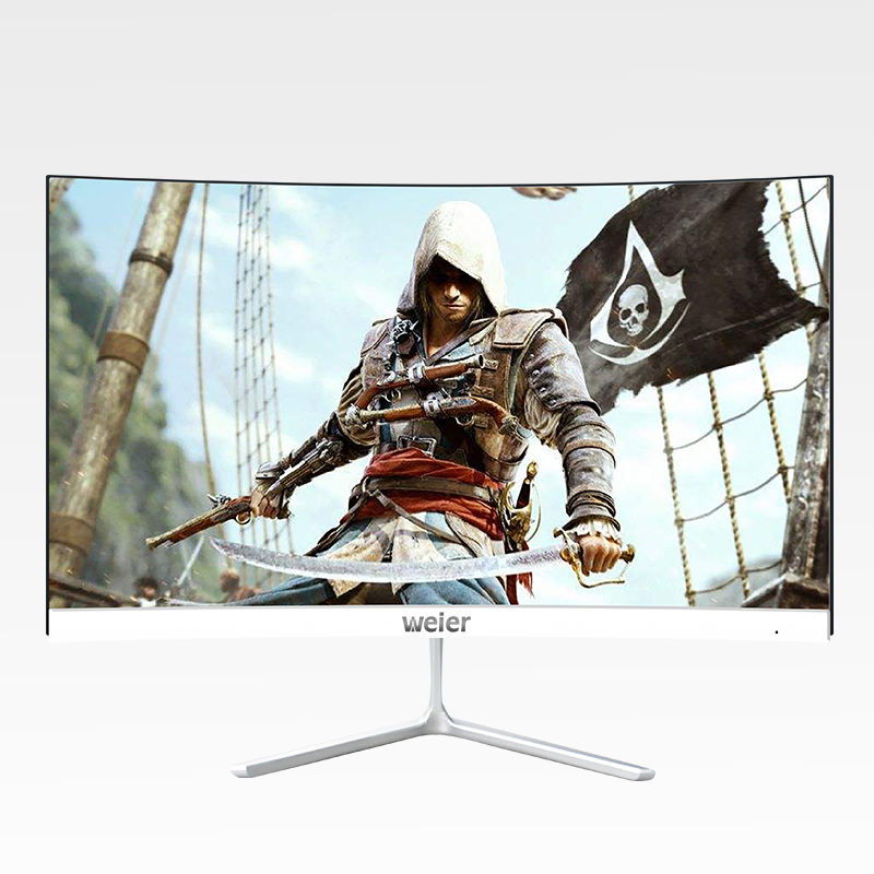 weier 27inch 4K Led Gaming Monitor curved screen 144Hz Gaming Computer Monitor
