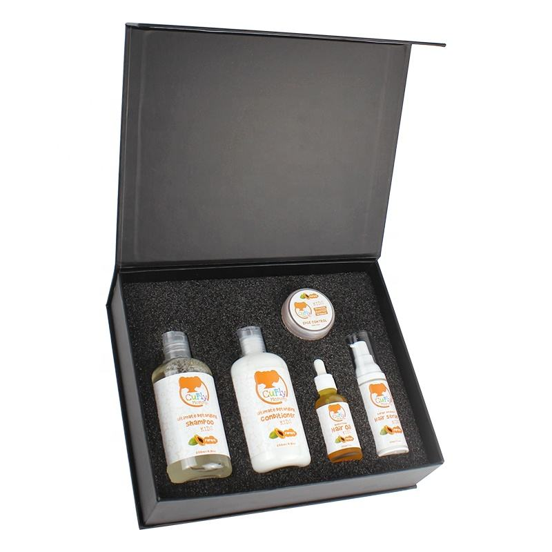 Curlymommy Private Label Sulfate Free Paraben Free Baby Hair Care Set For Moisturize And Protect