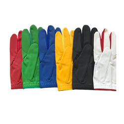wholesale colorful golf leather gloves fashion custom genuine