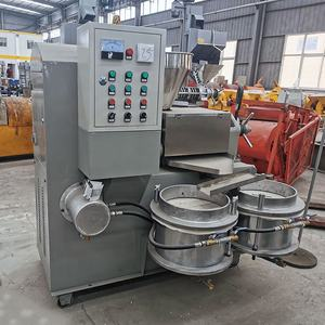 Screw Oil Press Machine Cold And Hot Hemp Seed Oil Extraction Pressing Sunflower Seed Oil Machine