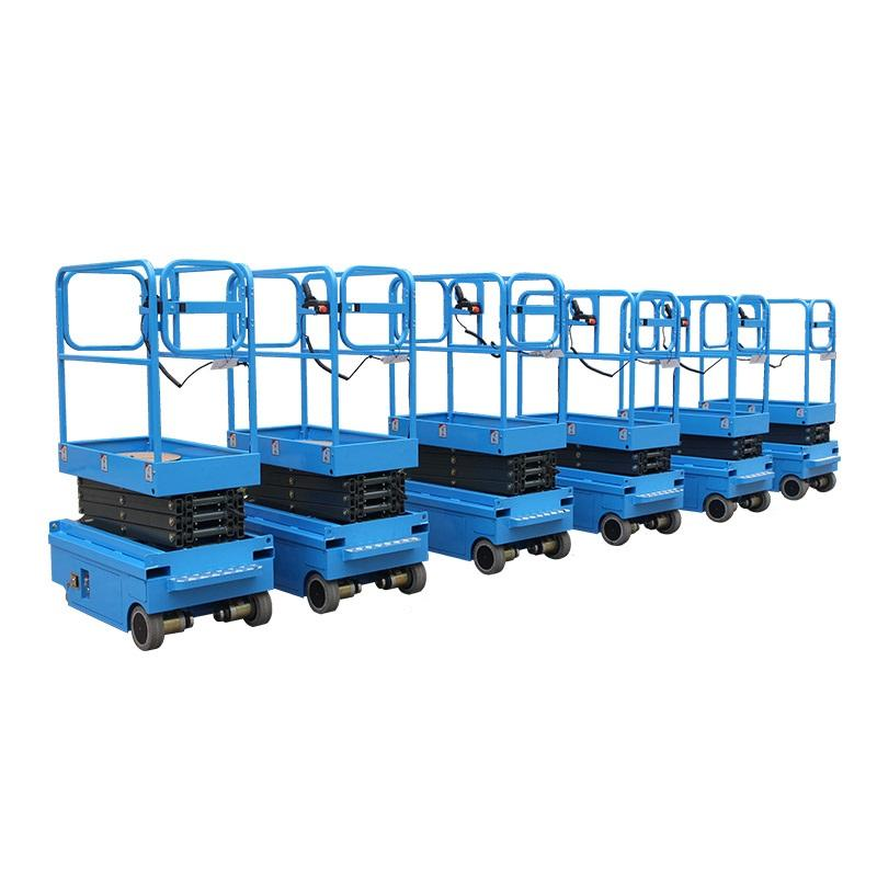 3.9 meter Automatic Hydraulic Scissor Lifting Platform Elevator For Warehouse