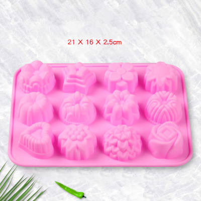 Silicone Chocolate Jelly Kẹo Xà Phòng <span class=keywords><strong>Nến</strong></span> Khuôn <span class=keywords><strong>Bánh</strong></span> Công Cụ Làm <span class=keywords><strong>Bánh</strong></span>