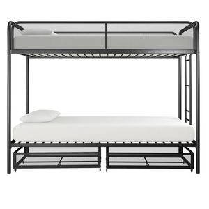 Hot Sale Bed Room Furniture Twin Full Size Metal Frame Bunk Bed