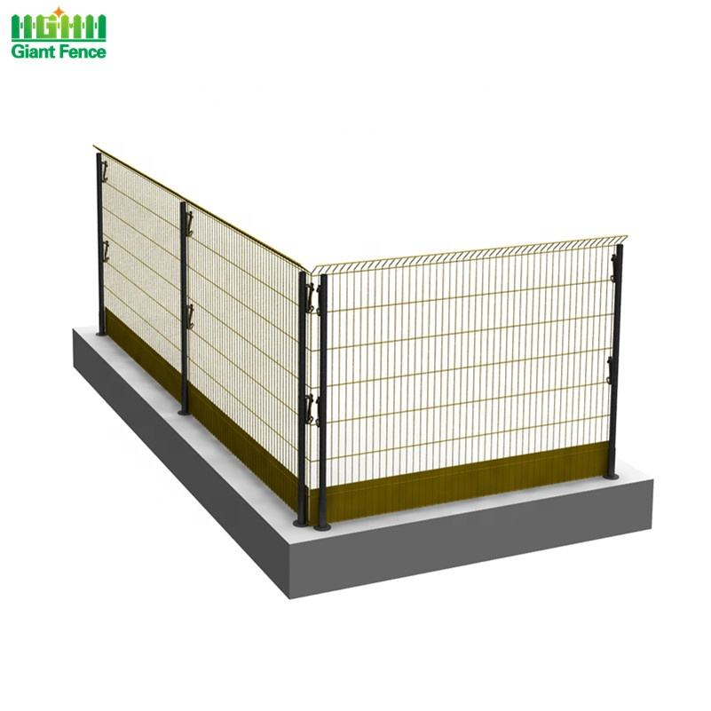 Building Construction Safety Site Temporary Fall Prevention Edge Protection Barrier Fence