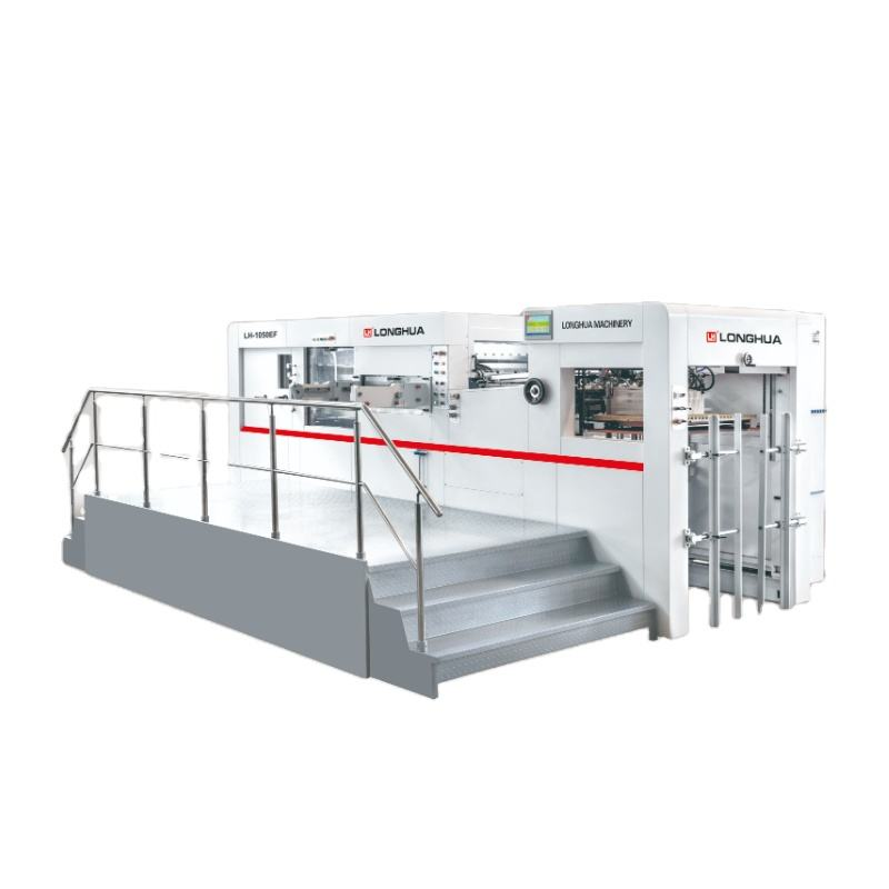 Automatic Kiss Cut Die Cutting Machine for paper bag production