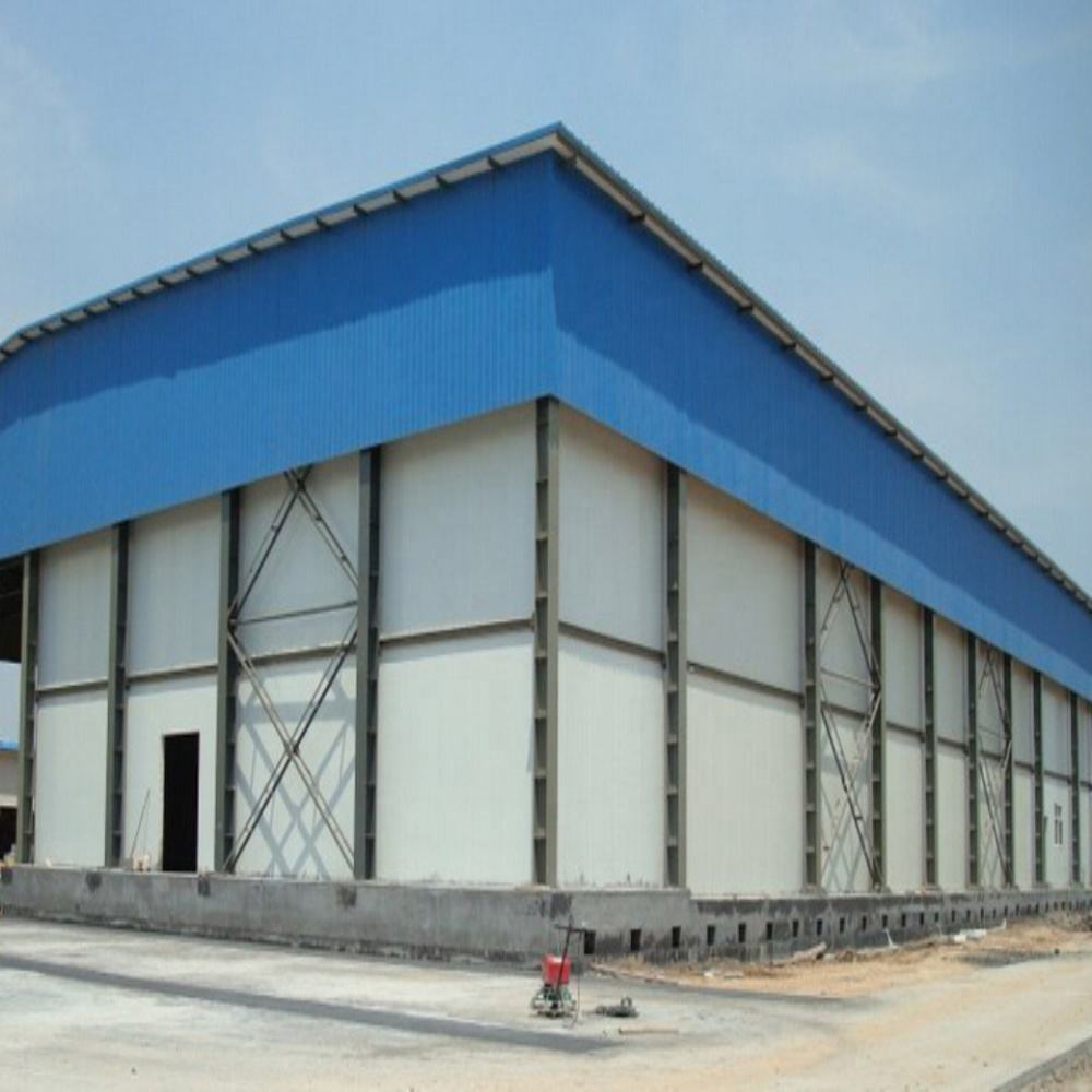 light steel structure warehouse workshop logistics park