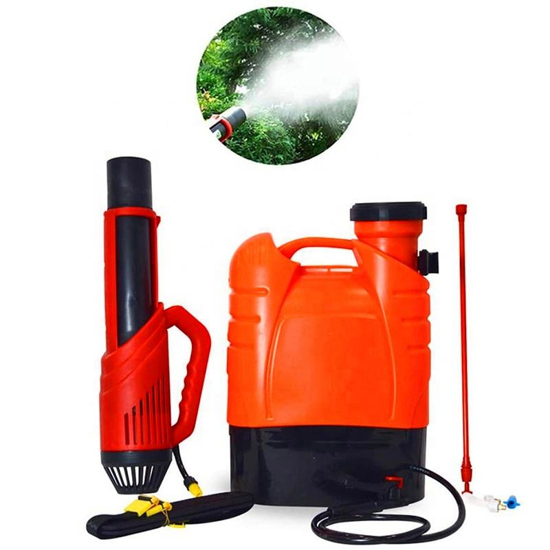 Us plug 110V cordless electrostatic backpack agriculture professional machine sprayer ulv cold disinfection fogger
