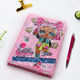 Stationery Customised Colorful Stationery Cartoon Sequin Student Hard Cover Notebook