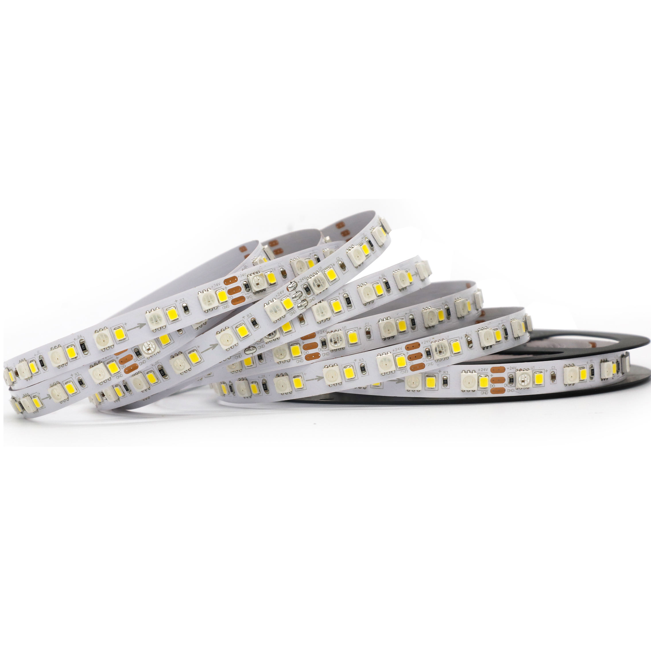 Led Strip Fabriek Groothandel 12 V 24 V 5050 Rgbw 4in1 Led Backlight Streep In Voorraad