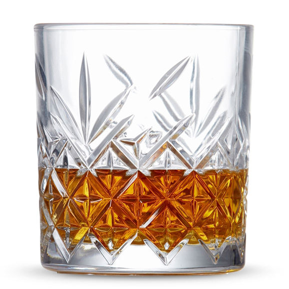 Winston Hand Cut Double Old Fashioned Glas