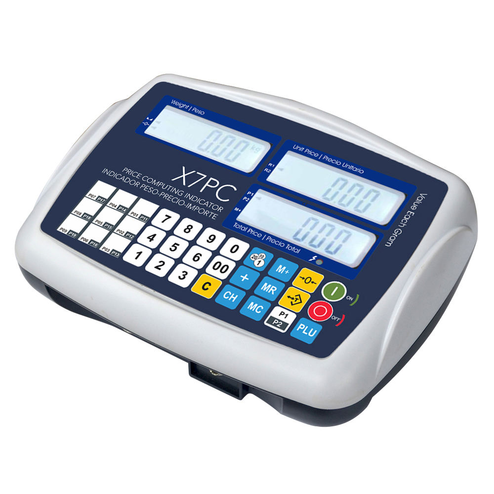 X7PC Price Computing Indicator for Retail Platform Weighing Scales