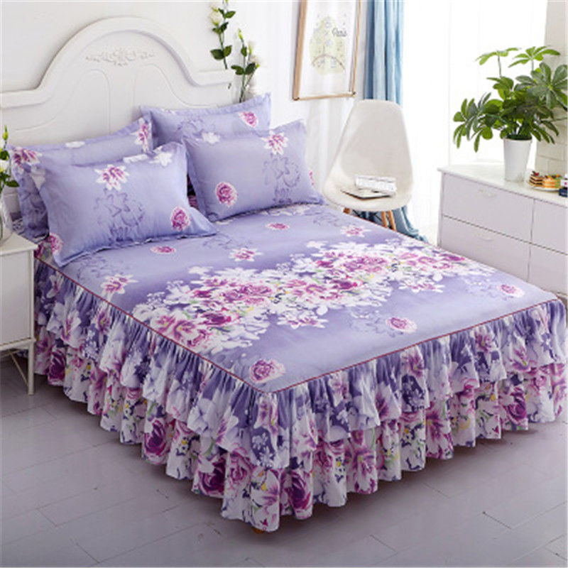 2021 New Best Sellers Home Bed Sheets Bed Textile Bedding Coverlet Flat Sheet Soft Warm D0185-1
