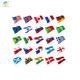 Yinbangke Nylon 2*3ft national flag with all countries