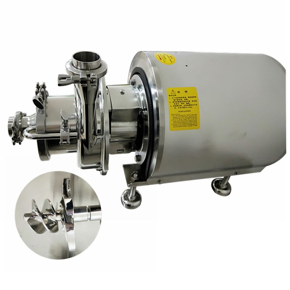 Food grade horizontal multi stage clamped connection centrifugal hydraulic pump