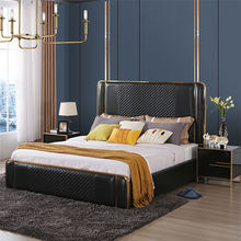 Modern wooden bed designs home bedroom furniture set