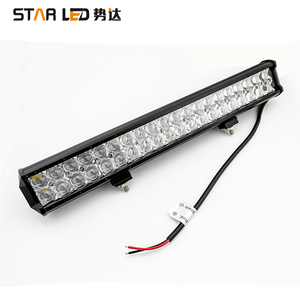 Ámbar led de conducción 4D barra de luz 12v 12v led Barra de luz led offroad