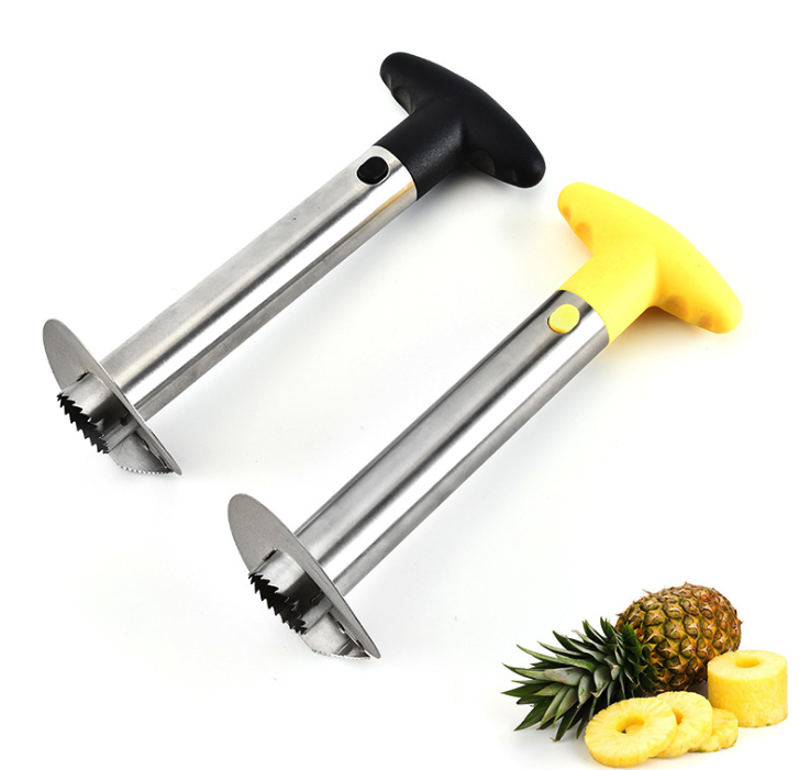 Wholesale Multi-Function Stainless Steel Pineapple Corer Peeler Slicer for Kitchen Accessories Fruit Knife Cutter