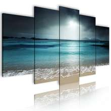 Wholesale drop shipping multi-panel poster picture Painting Home Decor wall art custom canvas print