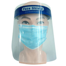 Disposable Medical Face Shield With Transparent Plastic Direct Splash Protection Isolation Shield