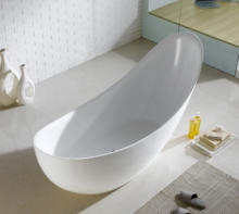 XD-06210 CUPC certified standard bathtub size irregular soaking tub