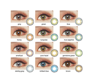 Fresh colored beauty eye contact lenses accept Paypal new look great quality contact lens