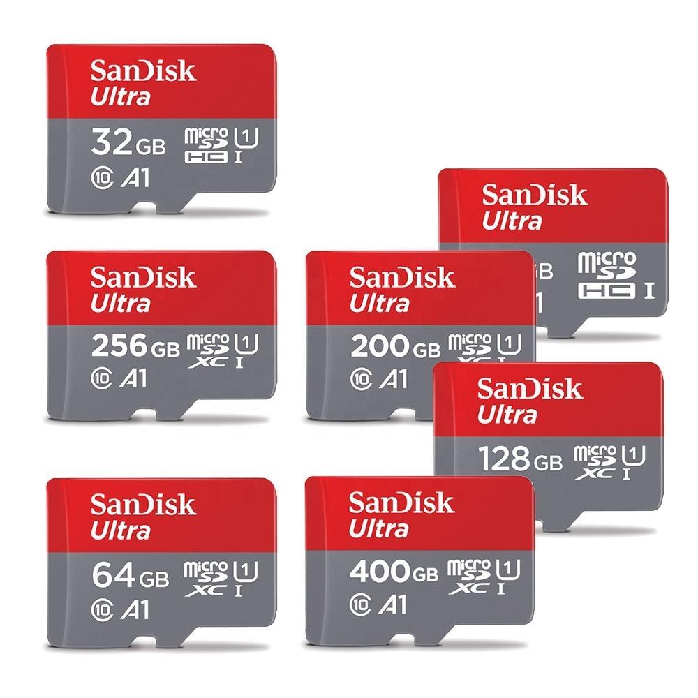 Marque 100% capacité pas cher prix C10 TF carte 4gb 8gb 16gb 32gb carte mémoire 64gb 128gb 256gb sandisk carte micro sd