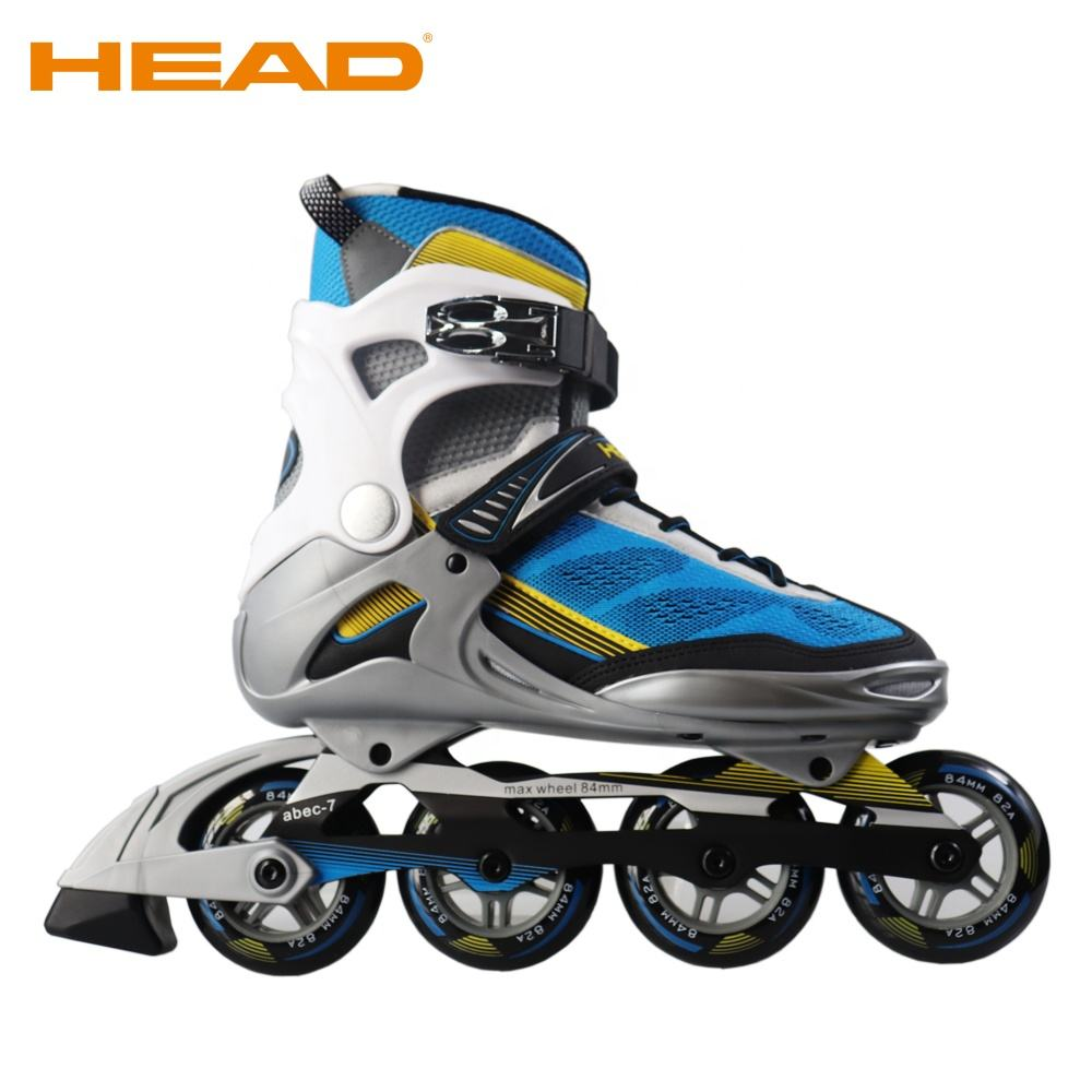 HEAD Adult ABEC 7 bearing PU Wheels fitness inline roller skate shoe