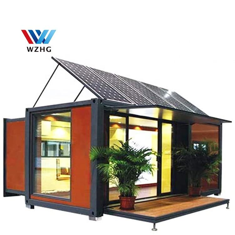 Factory direct supply 20FT Pop Up Container coffee Shop with Cheaper Price Kitchen Bathroom Container Homes Luxury