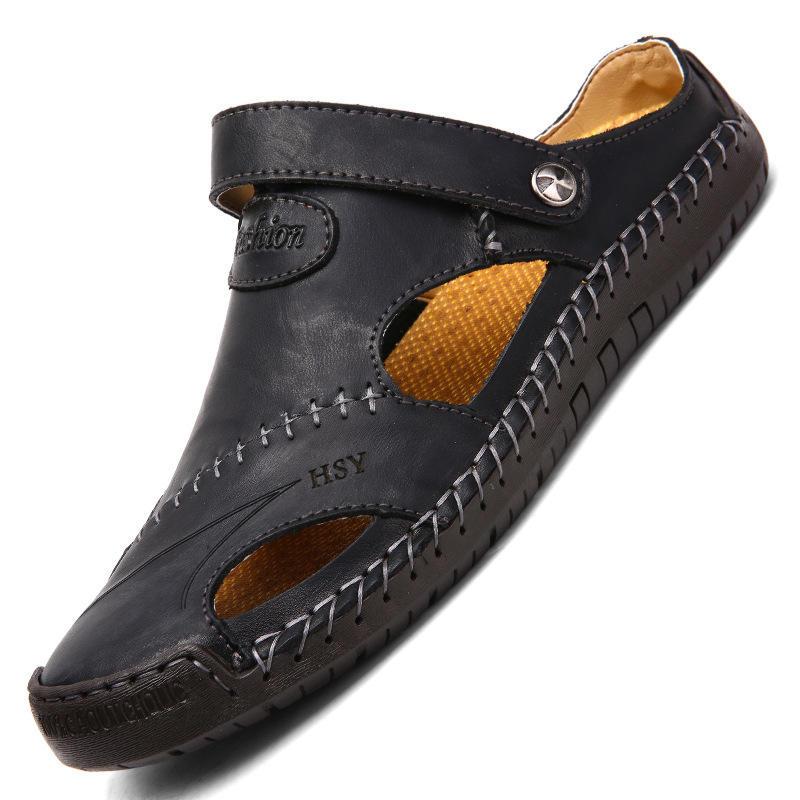 New Design 1 MOQ Fashion Breathability Wholesale High Quality Mens Sandals 2020