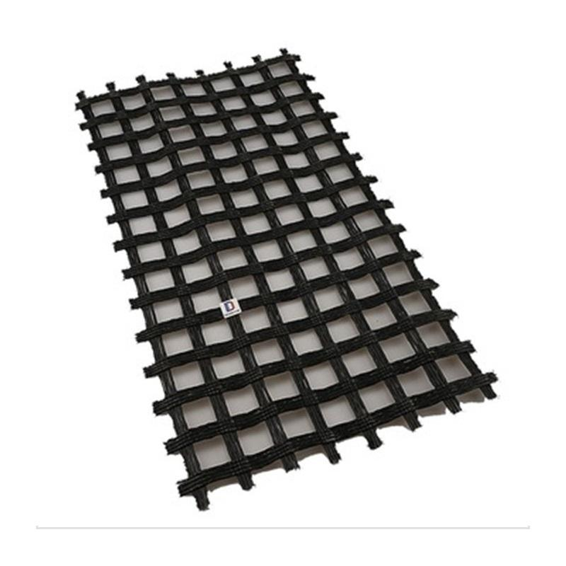 Cooperating price high tensile strength fiberglass biaxial geogrid for subgrade