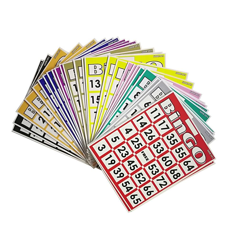 Custom Board Game Card Bingo Card Game voor Kids