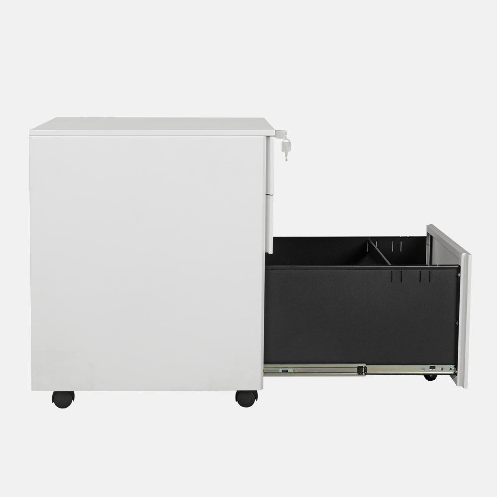 Office furniture Mobile steel filing cabinet a4 three drawer file cabinet