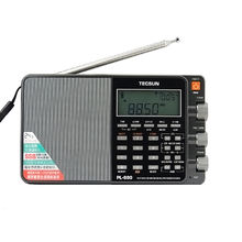 TECSUN PL-880 Full Band with  Radio AM/FM/LW/SW SSB PLL Modes World band receiver Internet Stereo Portable Radio