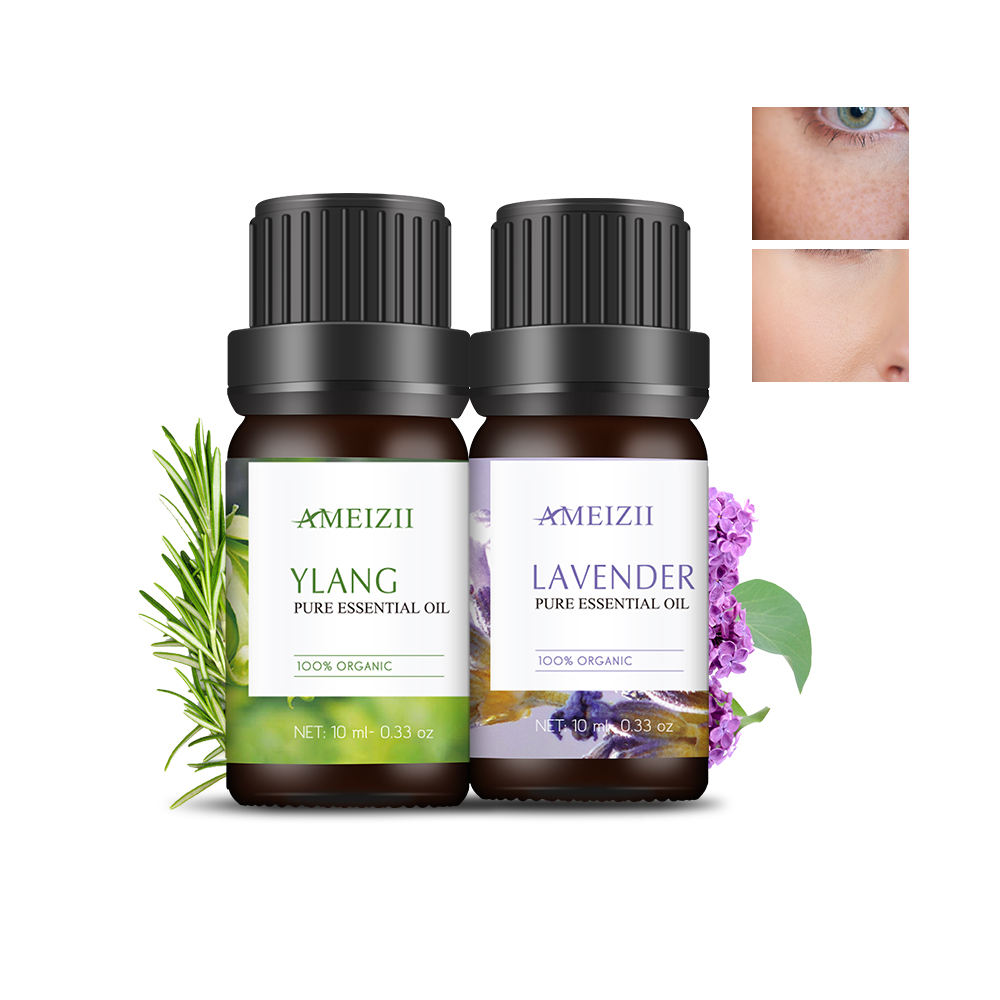 OEM Aromatherapy Essential Oils Rose Lavender Floral Huile Essentielle Aromaterapia Aroma Diffuser Plant Extract Essencial Oil